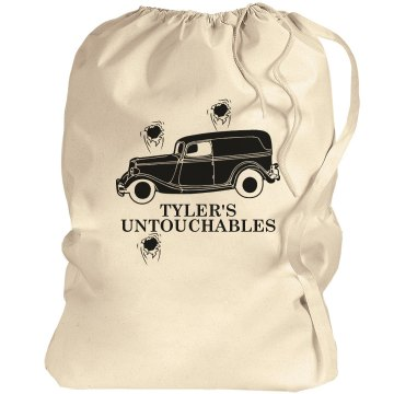 The Dirty Untouchables Port Authority Laundry Bag