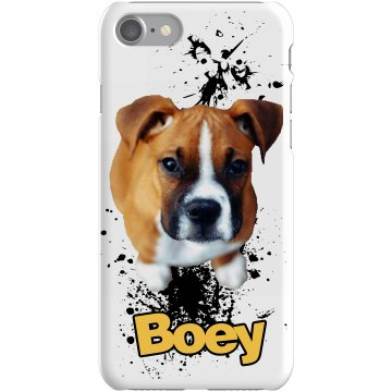 Your Dog's Photo Case Plastic iPhone 5 Case Black