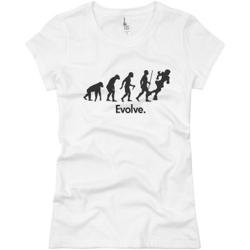 Derby Evolution Junior Fit Basic Bella Favorite Tee