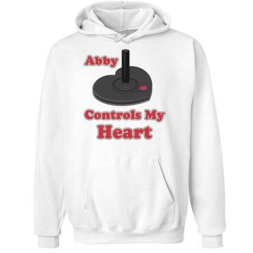 Controls My Heart Hoodie Unisex Hanes Ultimate Cotton Heavyweight Hoodie
