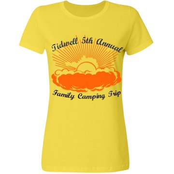 Tidwell Family Camp Trip Misses Relaxed Fit Gildan Ultra Cotton Tee