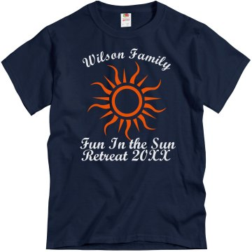 Wilson Family Retreat T Unisex Gildan Heavy Cotton Crew Neck Tee