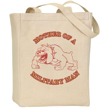 Marine Mother Tote Bag Liberty Bags Canvas Tote