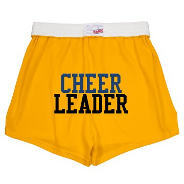 Cheerleader Megaphone Junior Fit Soffe Cheer Shorts