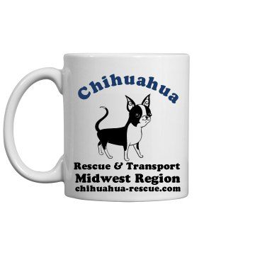 Chihuahua Rescue Mug 11oz Ceramic Coffee Mug