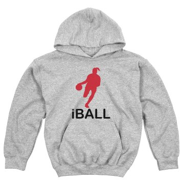 iBALL Sweatshirt Youth Gildan Heavy Blend Hoodie