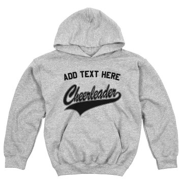 Cheerleader Sweatshirt Youth Gildan Heavy Blend Hoodie