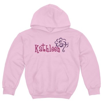Personalized Sweatshirt Youth Gildan Heavy Blend Hoodie