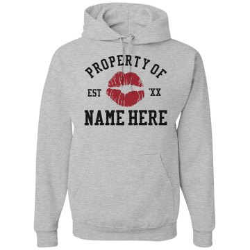 Property Of... Unisex Hanes Ultimate Cotton Heavyweight Hoodie