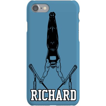 Gymnast Richard Plastic iPhone 5 Case Black