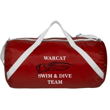 Warcat Swim Bag Augusta Sport Roll Bag