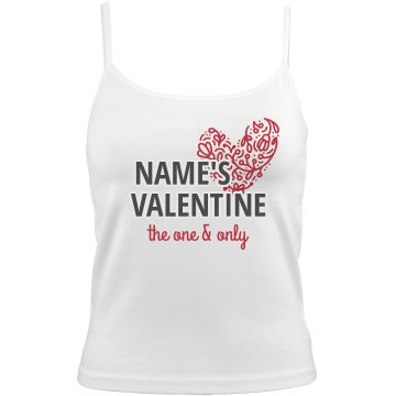Valentine&#x27;s Cami Bella Junior Fit Camisole