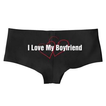 I Love My BF Undies Bella Hotshort
