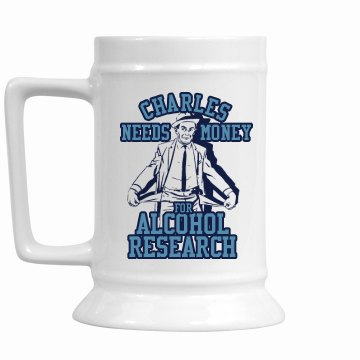 Need Money Stein 16oz Ceramic Stein