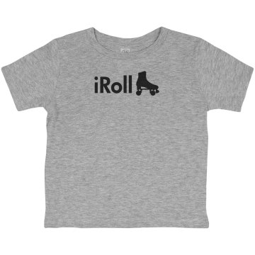 iRoll Derby Tee Toddler American Apparel 3/4 Sleeve Baseball Tee