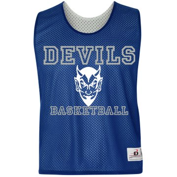 Custom Basketball Pinnie Badger Sport Lacrosse Reversible Practice Pinnie