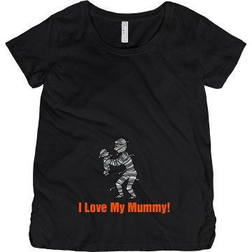Love My Mummy Mommy Tee Maternity LA T Cotton Tee