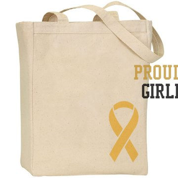Proud Army Tote Liberty Bags Canvas Tote