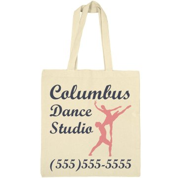 Columbus Dance Studio Liberty Bags Canvas Tote