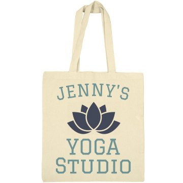 Lisa's Yoga Studio Liberty Bags Canvas Tote