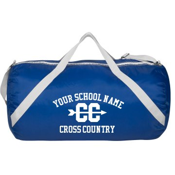Buy custom sports apparel - Cross Country Gear Bag: Custom Augusta Sport Roll Bag