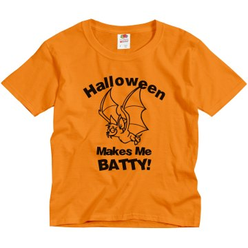 Batty Youth Tee Youth Gildan Ultra Cotton Crew Neck Tee
