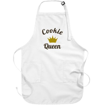 Cookie Queen Port Authority Adjustable Full Length Apron
