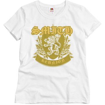 Lion Shield Misses Relaxed Fit Basic Gildan Ultra Cotton Tee