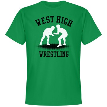 West High Wrestling Unisex Gildan SoftStyle Tee
