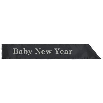 Baby New Year Sash Adult Satin Party Sash