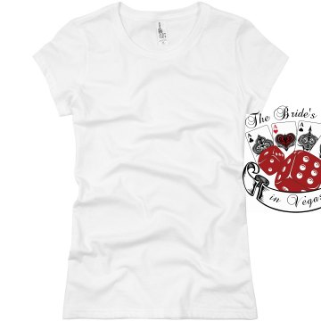 Bride's Crew Bachelorette Junior Fit Basic Bella Favorite Tee