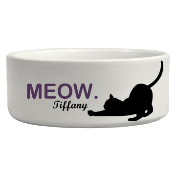 Cat Pet Bowl Ceramic Pet Bowl