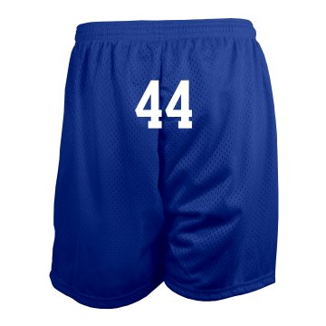 Mascot Mesh Shorts Ladies Badger 5'' Inseam Pro Mesh Tricot Shorts