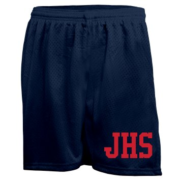 School Spirit Mesh Shorts Ladies Badger 5'' Inseam Pro Mesh Tricot Shorts