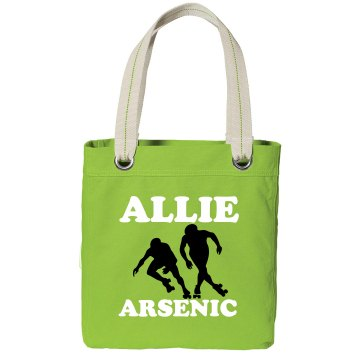 Allie Arsenic Derby Tote Port Authority Color Canvas Tote