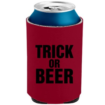Trick Or Beer The Official KOOZIE Can Kooler