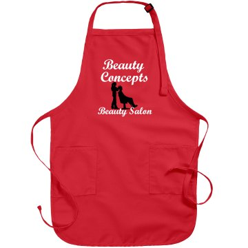 Custom  Salon Apron Port Authority Adjustable Full Length Apron
