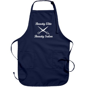 Beauty Salon Custom Apron Port Authority Adjustable Full Length Apron