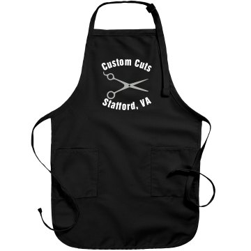 Customized Salon Apron Port Authority Adjustable Full Length Apron