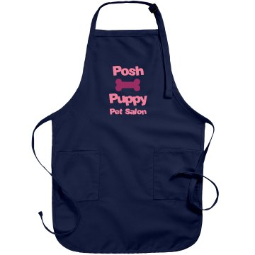 Custom Pet Salon Apron Port Authority Adjustable Full Length Apron
