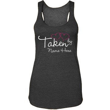 Taken By Joe! Junior Fit Bella Sheer Longer Length Rib Strap Tank Top