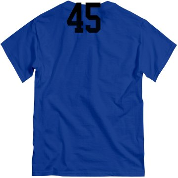 Comets w/ Name & Number Unisex Gildan Heavy Cotton Crew Neck Tee