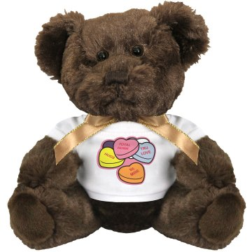 Sweet Heart Bear Medium Plush Teddy Bear