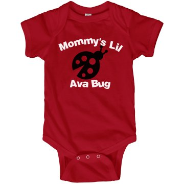Ava Bug Infant Rabbit Skins Lap Shoulder Creeper