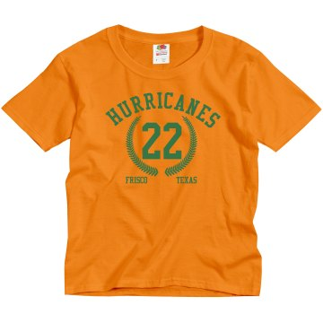 Frisco Hurricanes Youth Gildan Ultra Cotton Crew Neck Tee