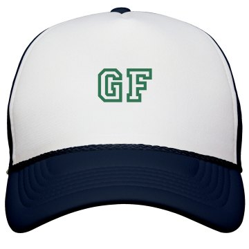 GF Trucker Hat KC Caps Poly-Foam Snapback Trucker Hat