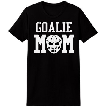 Goalie Mom Tee Misses Relaxed Port & Company Essential Tee