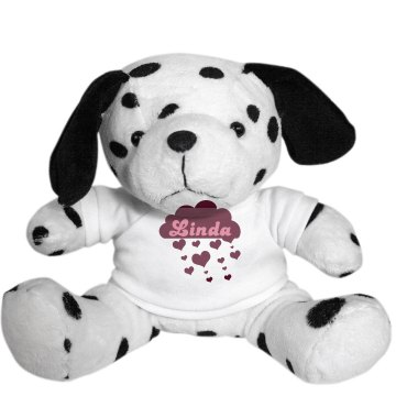 Linda's Love Bear Plush Baby Shower Teddy Bear