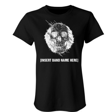 Design Tees For Your Band Junior Fit American Apparel Fine Jersey Tee