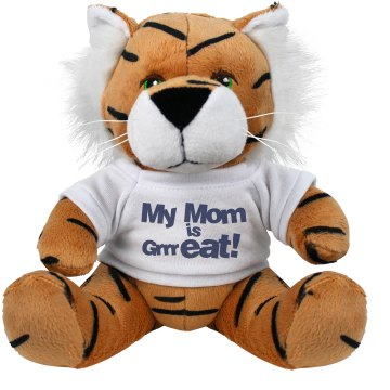 My Mom Is GrrrEAT! Plush Tiger